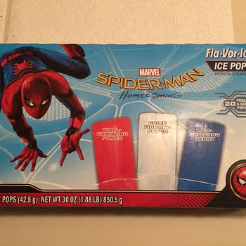 Nerd Food: Spider-Man Ice Pops Are A Great Way To Cool Off This Summer