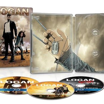Logan Gets Best Buy Steelbook Release Black And White Version Included&#8230Steve McNiven Talks Design And Secret Empire As Well