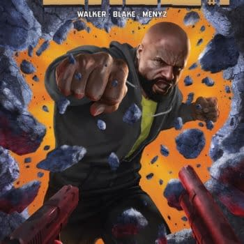 Luke Cage #1 Review – A Rather Stark And Sterile Art Design, But It Works Out