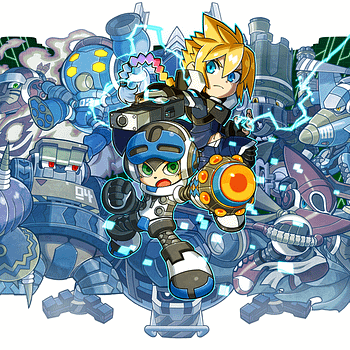 Two Franchises Set To Collide In The Upcoming Switch Sequel Mighty Gunvolt Burst