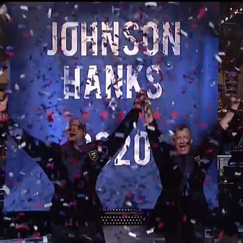 Dwayne Johnson Tom Hanks Officially Launch 2020 Presidential Campaign And Other Highlights From Last Nights SNL Finale