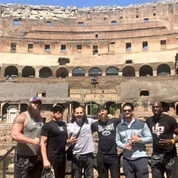 WWE's Titus O'Neil Deletes Kayfabe-Killing Tweet Showing Roman Reigns And Braun Strowman Hanging Out In Rome