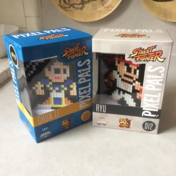 Lighting Up Your Geeky Home: We Review The 'Street Fighter' Pixel Pals