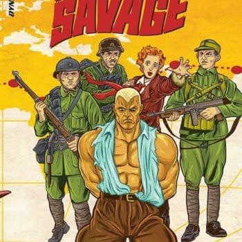 Writer's Commentary – David Avallone On Doc Savage: The Ring Of Fire #3
