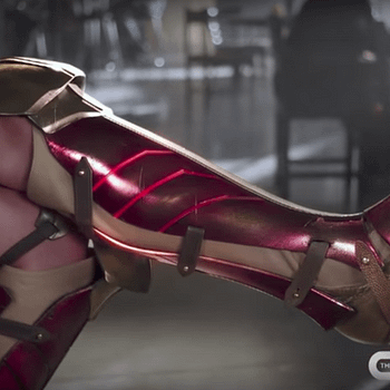 Supergirl Cast Promotes Wonder Woman Release Shows Off Cool Boots In New TV Spot