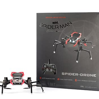 Spider-Man: Homecoming Spidey Suit Drone Is Coming To Skies Near You
