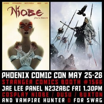 Jae Lee's New Creator-Owned Comic To Be Announced Today At Phoenix Comicon