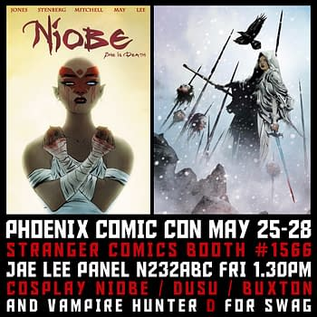 Jae Lees New Creator-Owned Comic To Be Announced Today At Phoenix Comicon