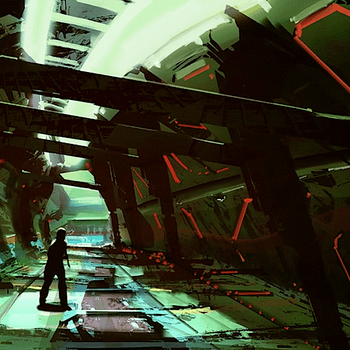 Starbreeze Shared This Early Concept Art From System Shock 3 Yesterday