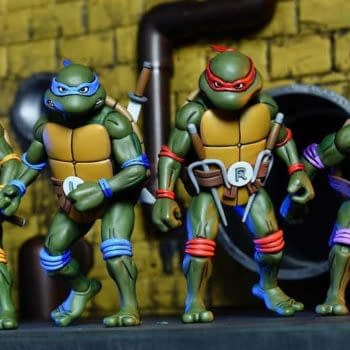 Exclusive Animated TMNT Set For SDCC