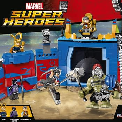 GLADIATOR HULK SMASH LEGO Thor Ragnarok Sets