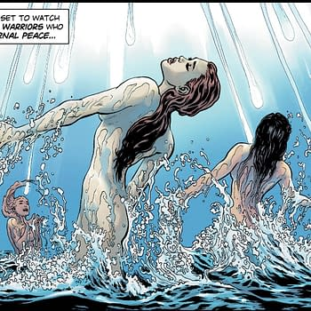 Liam Sharp Bares All For Wonder Woman #23 Preview