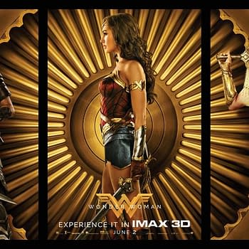 3 IMAX Exclusive Wonder Woman Posters Celebrate Wonder Power And Courage