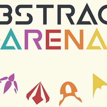 Abstract Arena By Alberto Muratore Wants To Give You A Completely Abstract 2D Shooter