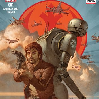 Cassian Andor And K-2SO Star In Rogue One Prequel One-Shot By Swierczynski And Blanco In August