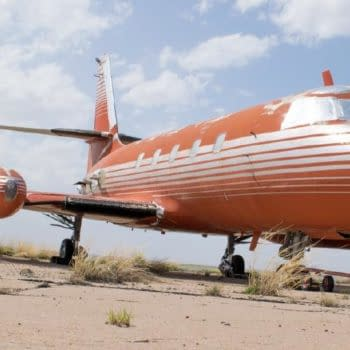 You Could Own Elvis Presley's Private Jet In All Its Red Velvet Shag Carpeted Glory