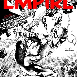 Spider-Man Homecoming Empire Magazine Cover Drawn By Comics Legend Alan Davis And Mark Farmer