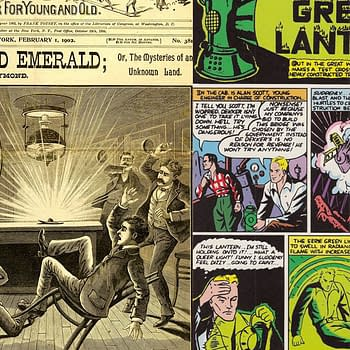 The Secret Pre-History Of The Green Lantern