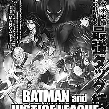 Shiori Teshirogis Batman And Justice League Manga Launches June 19 In Champion Red Magazine In Japan