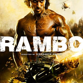 Tiger Shroff Channels 80s Stallone In First Poster For Official Indian Rambo Remake