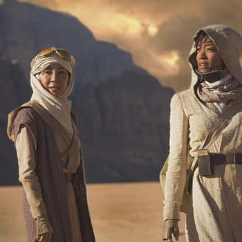 Star Trek: Discovery Beams Down Michelle Yeoh And Sonequa Martin-Green For Our First Photo Of The Series