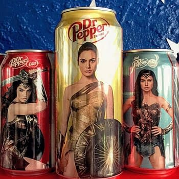 Nerd Food: Wonder Woman And The Mighty Dr. Pepper