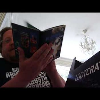 Unboxing Loot Crate June 2017s Alter Ego Box &#8211 With A DC Comics New 52 Poster Book
