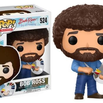 There Is A Bob Ross Funko Pop Coming, And It Rules