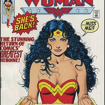 Brian Bollands Classic Wonder Woman Cover