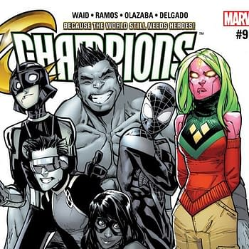 Champions #9 Review: A Day Out With Viv And The Red Locust