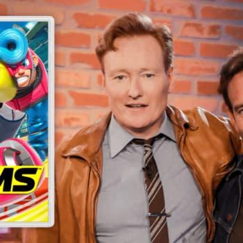 Coco V. Batman: Conan O'Brien Takes On Will Arnett In 'Arms'