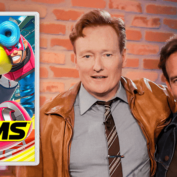 Coco V. Batman: Conan OBrien Takes On Will Arnett In Arms