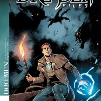 Exclusive Extended Previews – Dresden Files: Dog Men #1, Re Rising: Sons of Ares #2, Sovereigns #2
