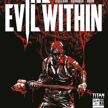 Titan And Bethesda Team Up For The Evil Within 2 Wolfenstein 2 And Dishonored: Death Of The Outsider Tie-In Comics