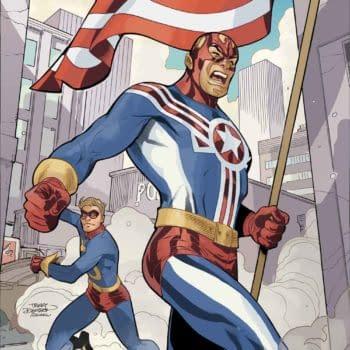Fighting American #1 From Titan Comics Will Debut On Joe Simon's Birthday, October 11th