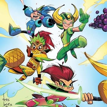 Nate Cosby Scott Brown And Ruairi Coleman Sign On For Fruit Ninja Comic