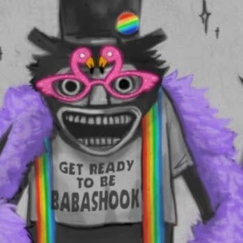 The Babadook Leaves The World Babashook In First Pride Appearances