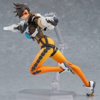 Good Smile Reveals Their Overwatch Tracer Figma Figure