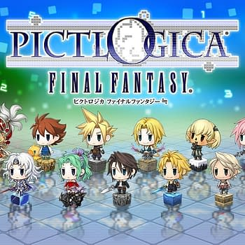 Final Fantasy Puzzle Game Pictlogica Announced For 3DS