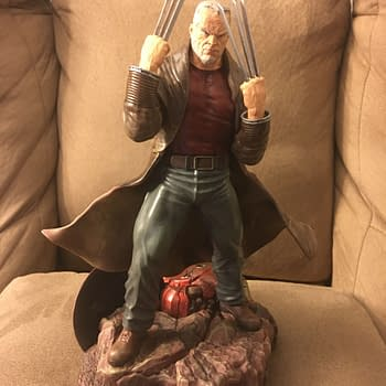 Diamond Select Toys Old Man Logan Gallery Statue Is Fantastic
