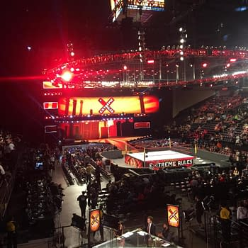 A Noobs First Wrestling Event: Lauren Goes To WWEs Extreme Rules PPV.