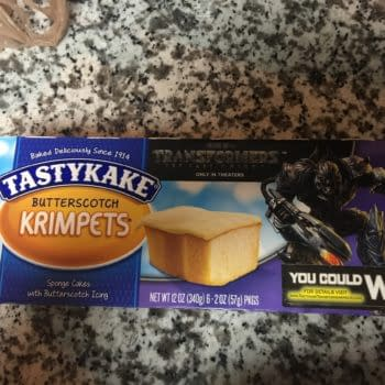 Nerd Food: Transformers Tastykake Krimpets Are Fluffy, Butterscotchy Delights