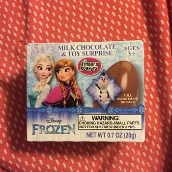 Nerd Food: Let It Go With Finders Keepers New Frozen Egg Surprise