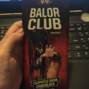 Nerd Food: Finn Balor Chocolate Melts In Your Mouth – And Everywhere Else
