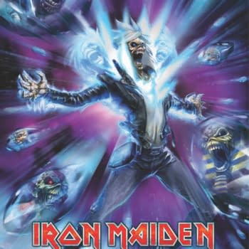 Iron Maiden Comics By Llexi Leon, Ian Edginton And Kevin J.West In Heavy Metal Magazine, Starring Eddie For The First Time