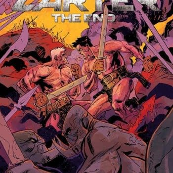 Creator's Commentary – Hayden Sherman Talks The End Of John Carter: The End