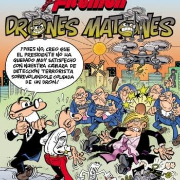 Spain's Most Popular Comic Book – And 81-Year-Old Francisco Ibáñez – Targets Donald Trump
