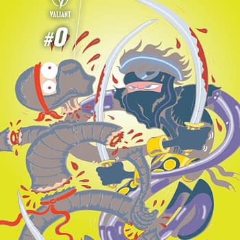 Valiants Ninjak #0 Includes Prelude By New Team Christos Gage &#038 Tomas Giorello