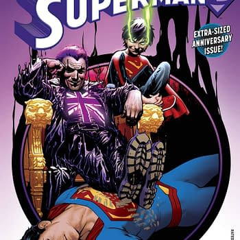 Now British Comic Stores To Get DC Comics Aquaman #25 Superman #25 And Harley Quinn #22 Late