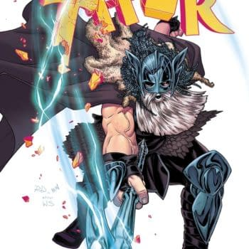 The Cover To Mighty Thor #20 Really Gives Away Who The War Thor Is… (SPOILERS)